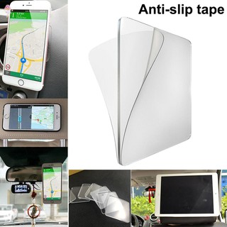 Super Sticky Gripping Pad Clear Double-Sided Adhesive Washable for Home Kitchen