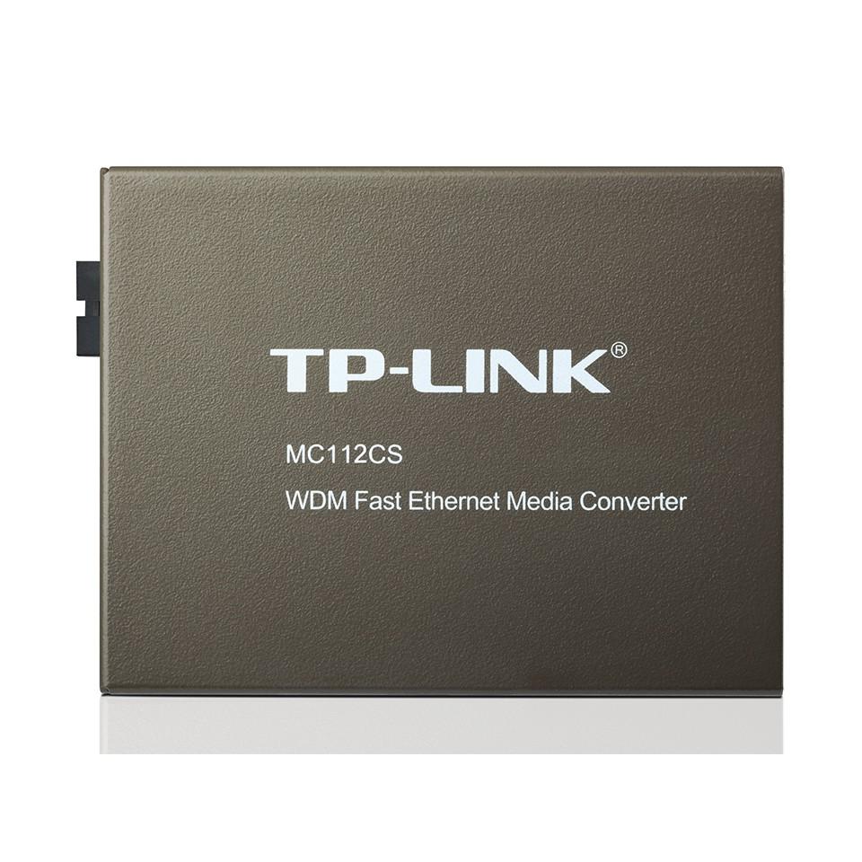TP-Link MC112CS - Bộ Chuyển Đổi RJ45 10/100Mbps Sang SC Sin