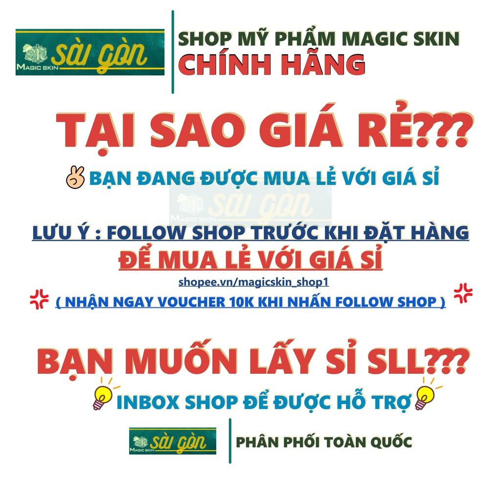 [CHÍNH HÃNG] Tinh chất NGỪA MỤN đông y MAGICSKIN Aloe Vera ngăn ngừa MỤN BỌC , MỤN ẨN , SƯNG TẤY, MỤN ĐẦU ĐEN