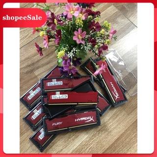 (Hàng Mới Về) RAM Kingston HyperX Fury Red 8GB (1x8GB) DDR3 Bus 1600Mhz - Mới Bảo Hành 36 Tháng thumbnail