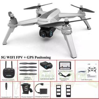 Flycam jjpro X5 Chế Độ Bay Đêm, 2 GPS,2 phin, FPV Full HD 1080P, thời gian bay 16 phút, khoảng cách bay 600m.
