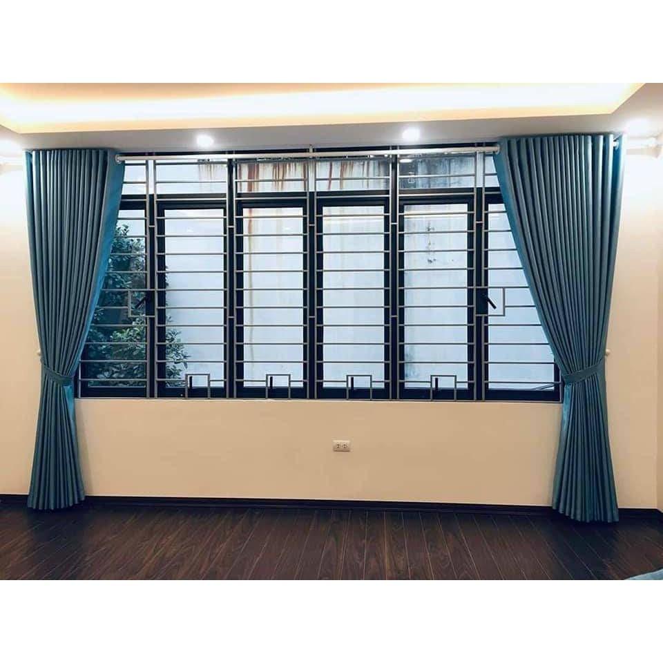 Rèm cửa sổ chống nắng 98% rèm cửa sổ phòng khách siêu đẹp, rèm cửa sổ phòng ngủ