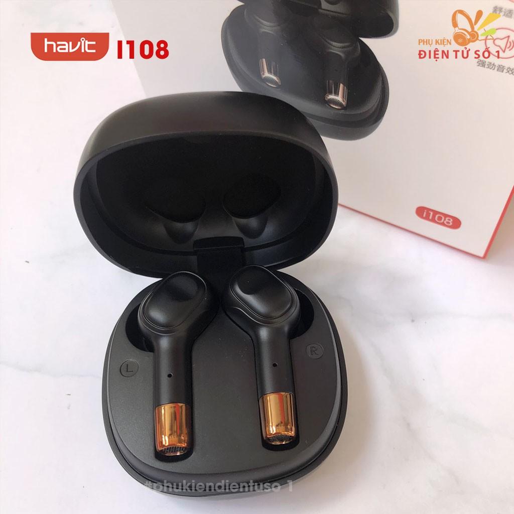 Tai nghe tws Havit I99/i916 kết nối nhanh, đàm thoại rõ ràng, âm trong bass sâu ( full seris) - Phụ Kiện Điện Tử số 1