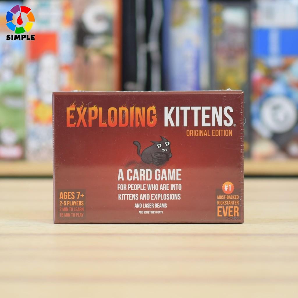 Bộ thẻ bài chơi game Mèo Nổ Tưng Bừng