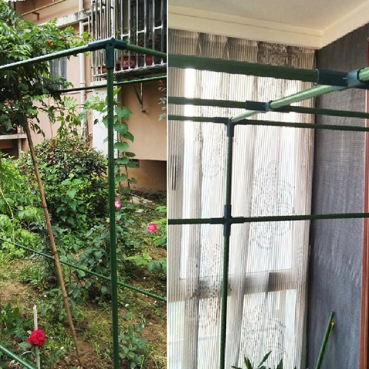 Khớp nối THẲNG dùng cho ống thép bọc nhựa phi 8 11 16