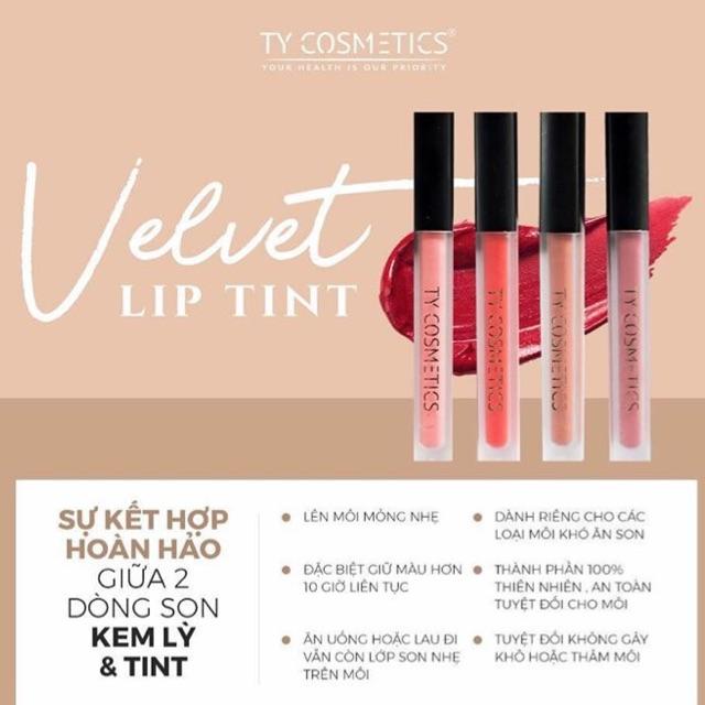 Son Ty Velvet Lip Tint 100/100 Chính Hãng - 2861290 , 845303481 , 322_845303481 , 180000 , Son-Ty-Velvet-Lip-Tint-100-100-Chinh-Hang-322_845303481 , shopee.vn , Son Ty Velvet Lip Tint 100/100 Chính Hãng