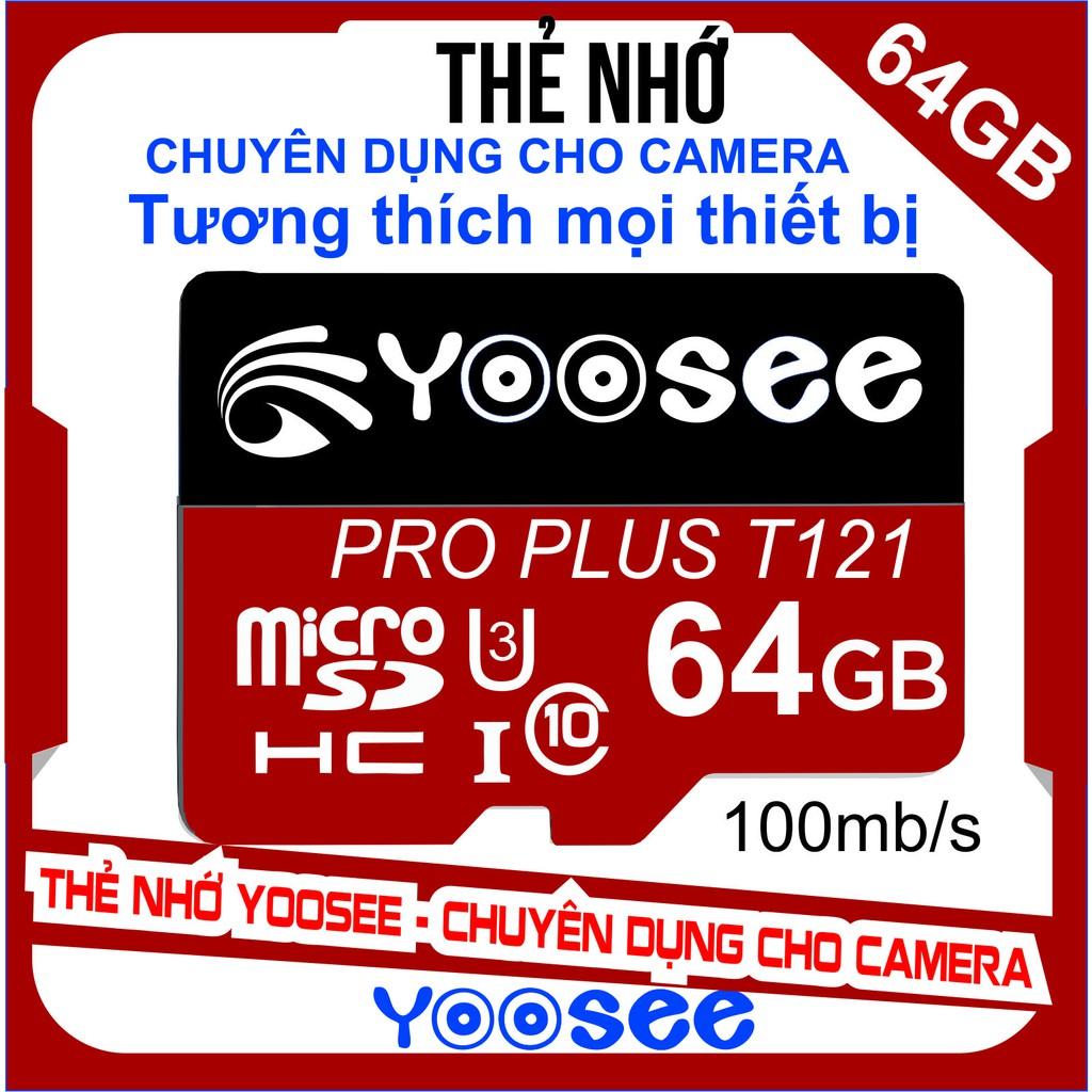 Thẻ nhớ YooSee chính hãng - 64GB tốc độ ca