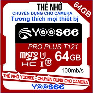 Thẻ nhớ YooSee chính hãng – 64GB tốc độ cao C10