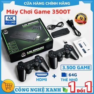 [HOT NEW] Máy Chơi Game Stick 4k HDMI 3500 game + thêm 20 game mới, game việt hóa, máy điện tư - BH 12 THÁNG thumbnail