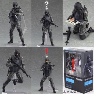 Mô hình có khớp 16cm Figma289 Soldier – Metal Gear Solid 2 Sons Of Liberty