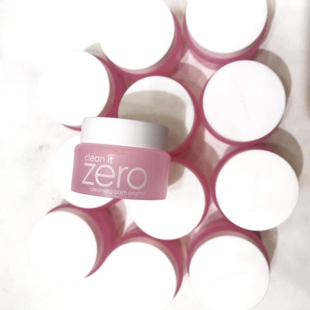 Tẩy trang sáp Zero mini của hãng Banilaco