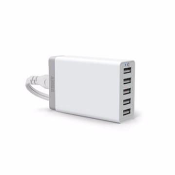 Bộ sạc Anker 5 cổng USB 40W-8A - A2105J21
