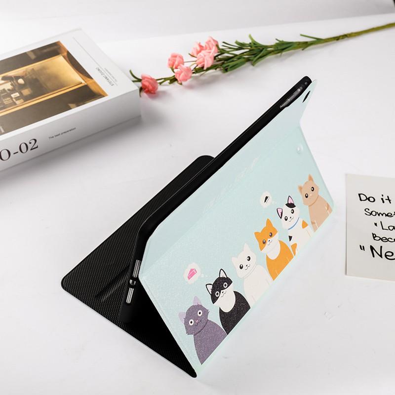 Bao da máy tính bảng cho iPad air4 air3 air2 air1 2019 pro 9.7 8th 7th 10.2 2020 gen6 gen5 mini 5 4 3 2 1 2019 pro 9.7