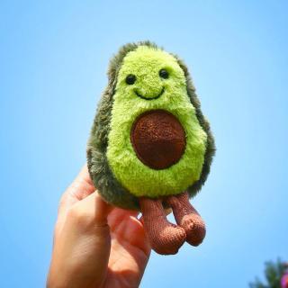 Cô gái Avocado Doll Mặt dây chuyền Búp bê dễ thương Búp bê dễ thương Móc chìa khóa Túi đồ chơi sang trọng