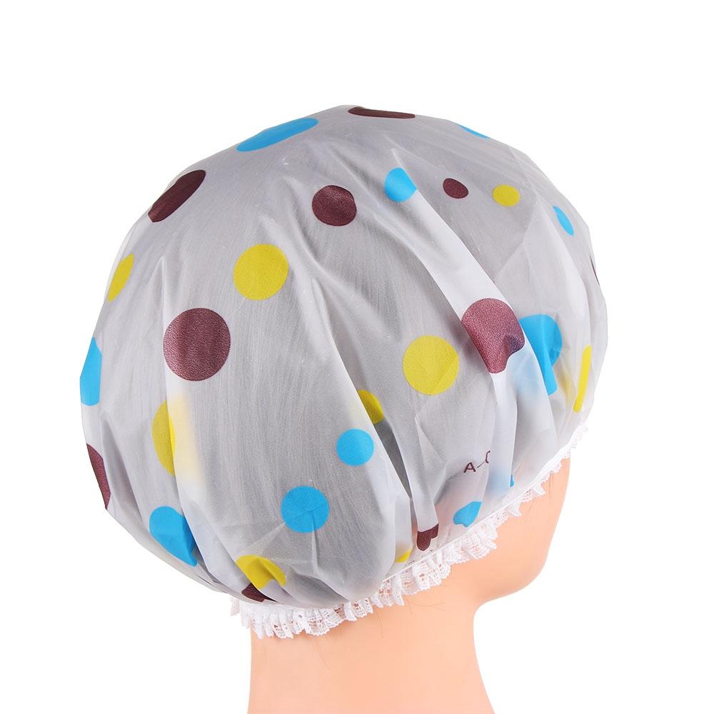 (hàng Mới Về) Mũ Trùm Tóc Dày Co Giãn Chống Thấm Nước Dành Cho Salon