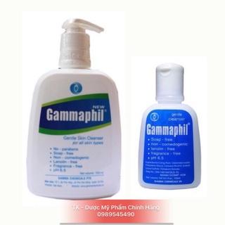 Sữa rửa mặt Gammaphil Cho da nhờn, da khô, da nhạy cảm bot 125ml - 500ml thumbnail