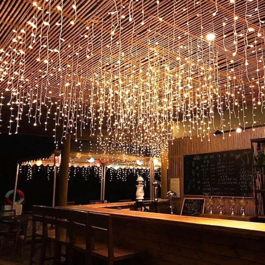 Đèn Led Thả Mành Cao Cấp 12m 60 Sợi Thả | Shopee Việt Nam