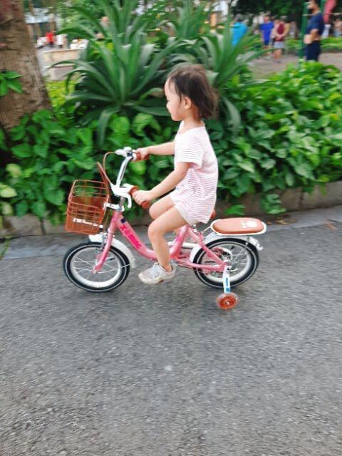 Xe Đạp Trẻ Em Xe Đạp Nữ Xaming Mẫu Mới 2021 Cỡ 18, 20 inch