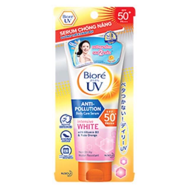 Serum chống nắng Body Típ Lớn Biore 150ml