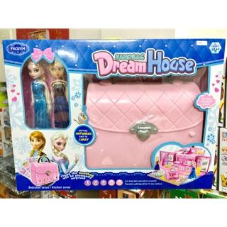 Đồ chơi túi xách ngôi nhà Frozen Elsa & Anna
