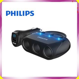 Bộ chia tẩu sạc cao cấp chính hãng thương hiệu Philips DLP2019 - Hàng Nhập Khẩu Chính Hãng