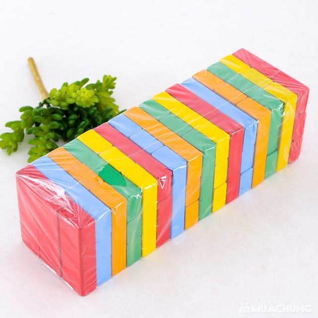 [HOT]Rút gỗ màu 48 thanh loại lớn - Toca Toys