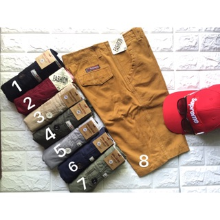 Combo 4 quần short kaki nam