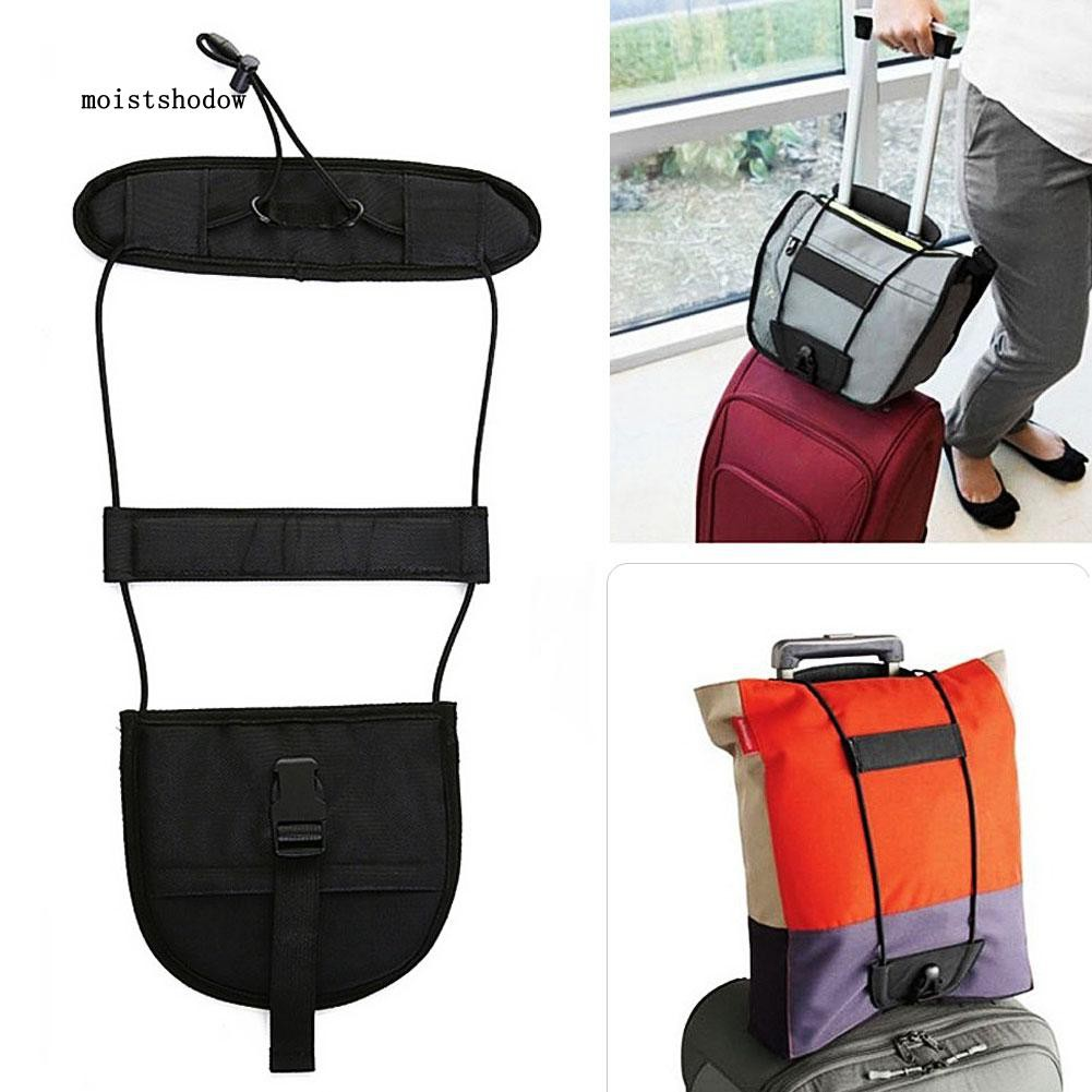 Adjustable Travel Suitcase Luggage Bungee Belt Bands Straps Buckle Fasteners