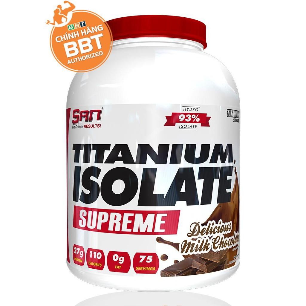 Tăng cơ S.A.N Titanium Whey Isolate Supreme