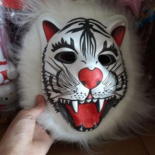 Mặt nạ sư tử xốp ép mặt nạ hóa trang trung thu-y55 | squishygiare698
