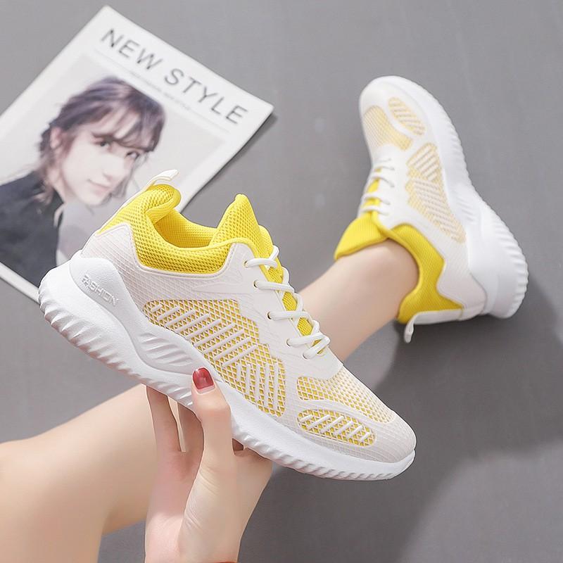 Giày Nữ, Giày Thể Thao Sneaker Nữ Màu Trắng G03 Hot 2020
