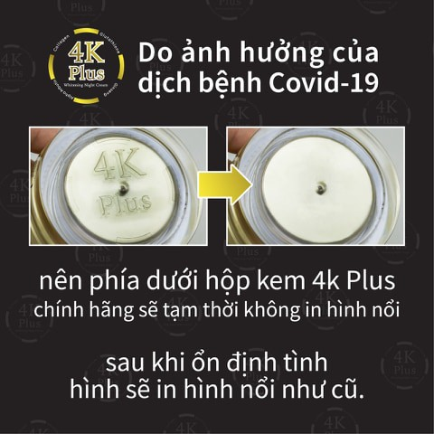 Kem 4K Plus , Berry Plus Thái Lan Chính