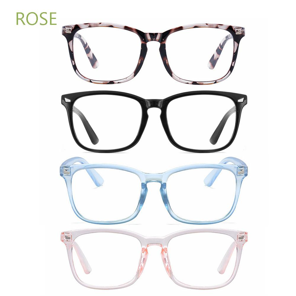 ROSE Flexible Blue Light Blocking Glasses Anti Glare Video Gaming Glasses Office Computer Glasses Goggles Anti Blue Light Unisex Anti Radiation Eyeglasses