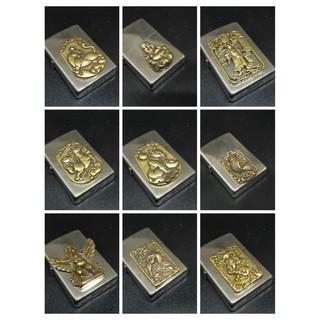 emblem dán zippo bằng đồng Nguyên khối ( không kèm zippo )