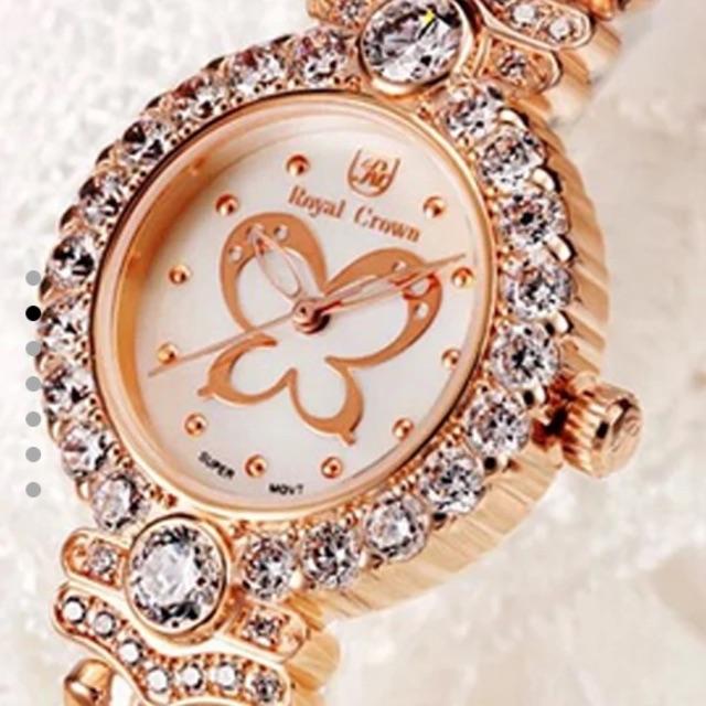 Đồng hồ nữ Royal Crown dây kim loại vàng - 2478217 , 1668035 , 322_1668035 , 1959000 , Dong-ho-nu-Royal-Crown-day-kim-loai-vang-322_1668035 , shopee.vn , Đồng hồ nữ Royal Crown dây kim loại vàng
