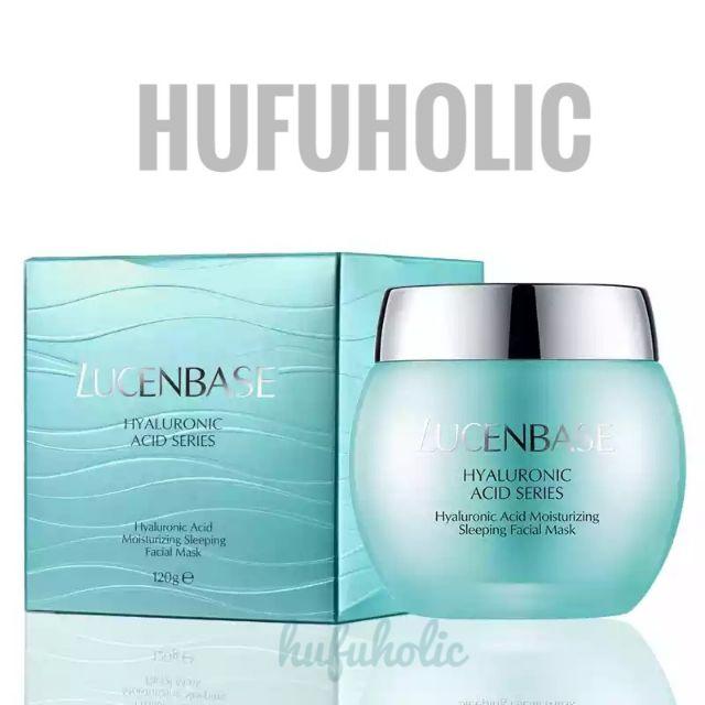 Lucenbase - Mặt nạ ngủ HA Cấp nước dưỡng ẩm phục hồi da