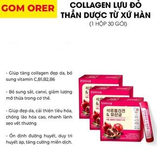 Collagen lựu đỏ Hàn Quốc-Hộp 30 gói thumbnail