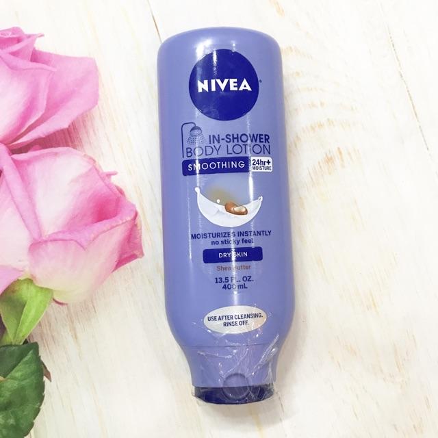 Kem xả Nivea Body Lotion Whitening In-Shower