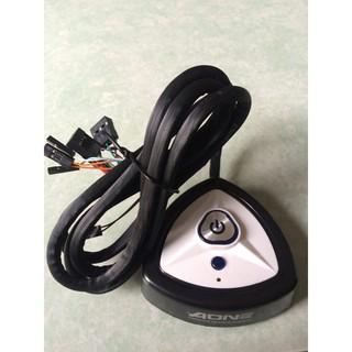 NÚT NGUỒN AONE -LED- USB-AUDIO – Dán tam giác
