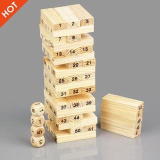 [Nhập TOYAPR10K giảm ngay 10K]Đồ chơi rút gỗ 54 thanh cho bé | CHẤT LƯỢNG CAO