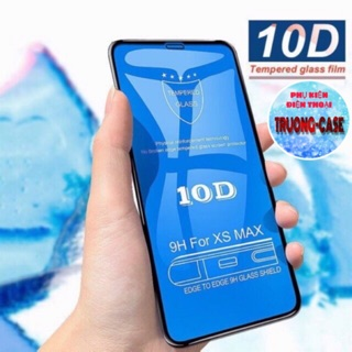 Kính cường lực iPhone 10D full màn