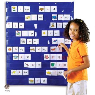 Learning Resources Standard Pocket Chart Education for Home Scheduling Classroom