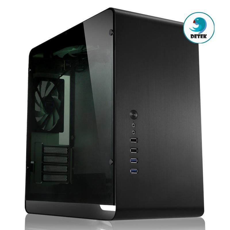 Thùng máy vi tính case Jonsbo UMX3W Màu Đen