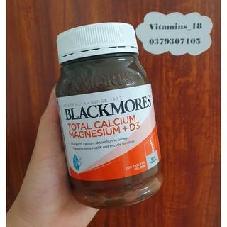Viên uống Calcium Magnesium Vitamin D3 200 viên (total canxi) mẫu mới
