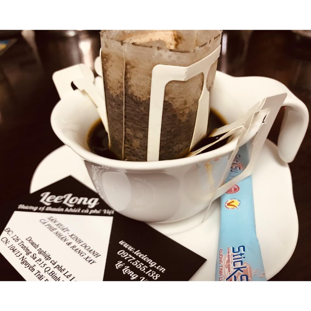 Phin giấy pha cà phê đi du lịch