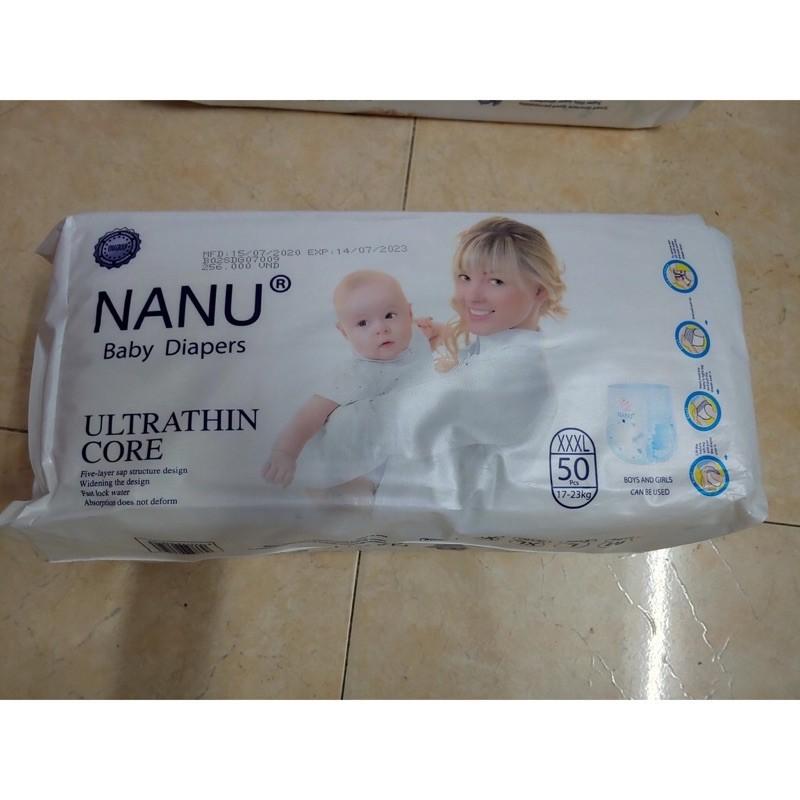 Tã quần Nanu baby size M100/ L100/XL100/ XXL100