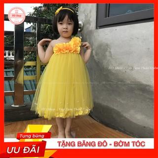 Đầm tutu cho bé ❤️FREESHIP❤️ Đầm tutu vàng cho bé yêu tỏa sáng