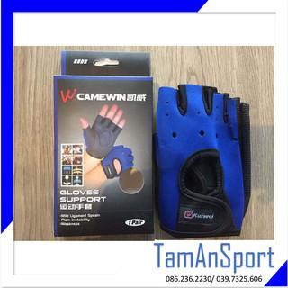 Găng tay tập Gym, thể hình Camewin 0606 Gloves đa năng