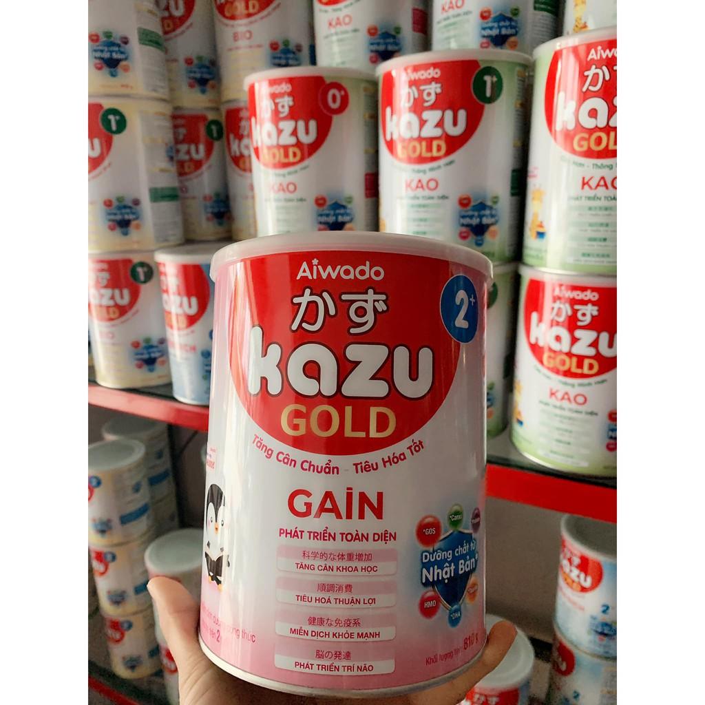 SỮA KAZU GAIN 2+ (400gr/810gr) chính hãng 225,000đ