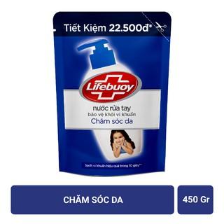 Hình ảnh Nước rửa tay Lifebuoy Bảo vệ khỏi vi khuẩn 450gr (Túi)-1